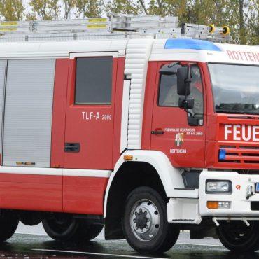 Brandverdacht in der Sportplatzstraße