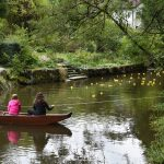 2017-09-03 FFRühschoppen - Entenrennen kurz vor dem Ziel