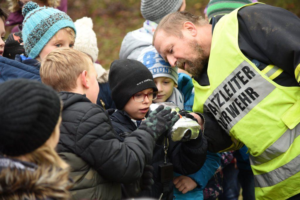 Wolfsteiner Rudolf bei der Schulübung (17.11.2017)