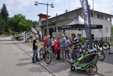FF Rottenegg unterstützte E-Mobilitätstag