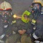 Abschnittsübung 08.02.2014 - AS-Trupp rettet eine Person