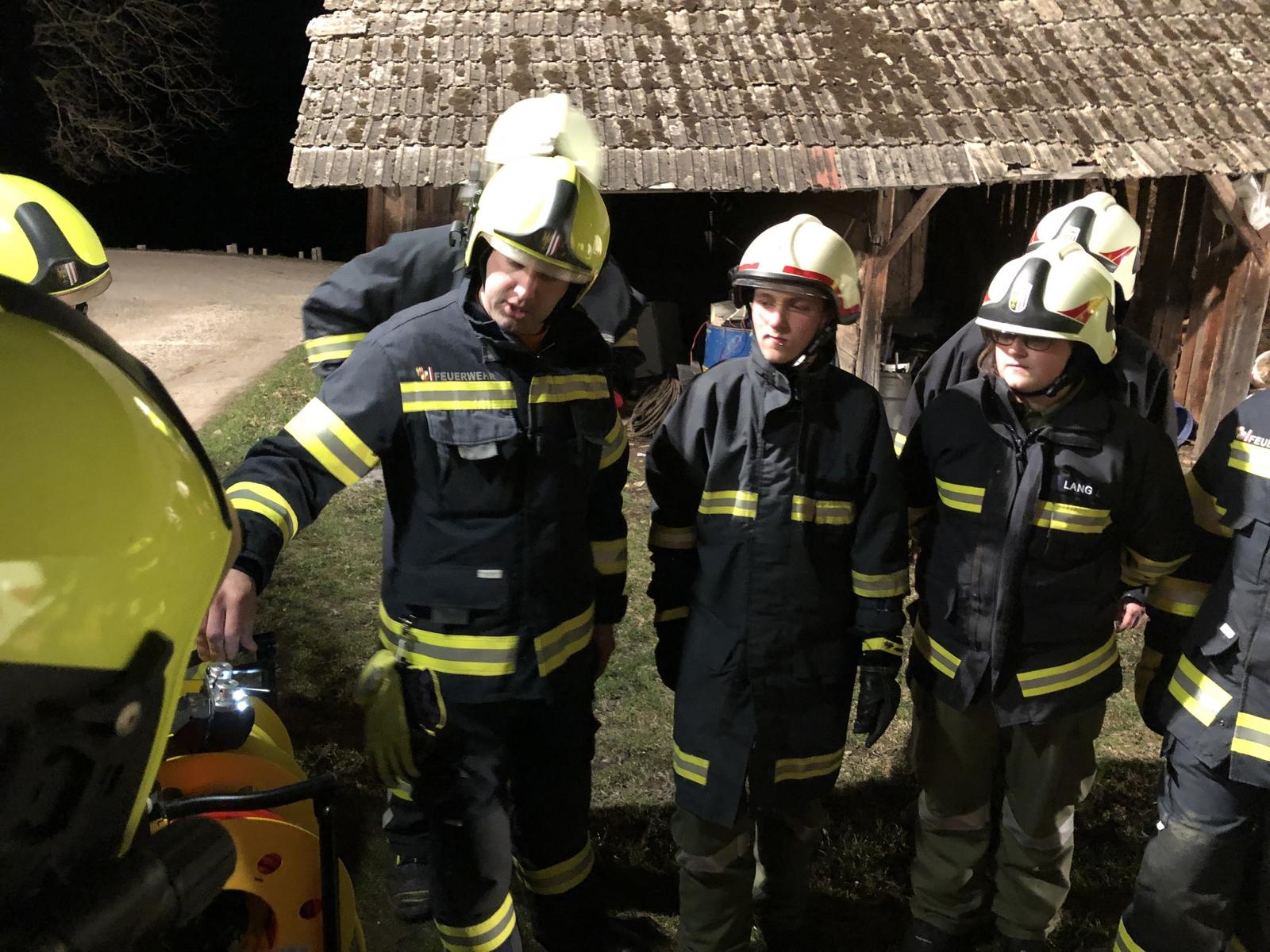 2019-03-21 Übung mit Hydraulischem Rettunggerät