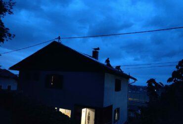 Schwere Gebäudeschäden nach Hagelunwetter